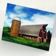 ND Barns Note Set