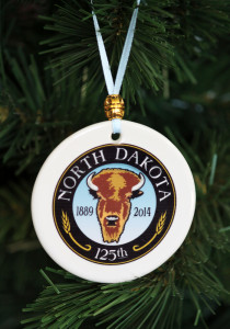 ND's 125th Porcelain Christmas Ornament