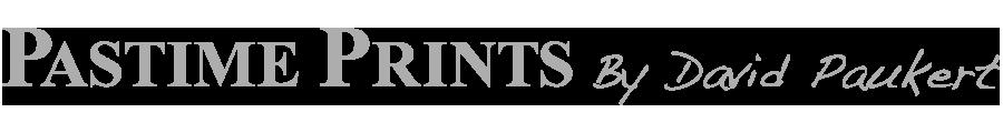 Pastimeprints by David Paukert